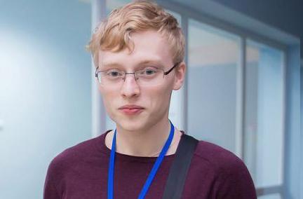 Никита Добронравов учится в старших классах в лицее № 130 им. М.А. Лаврентьева