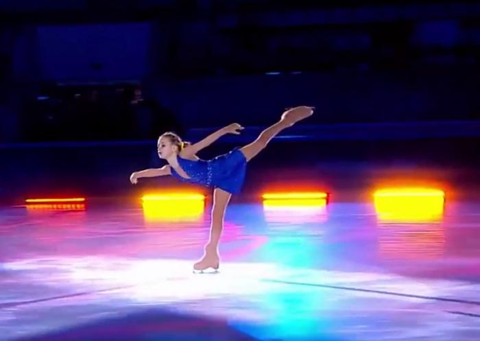 Выступление Вари Ковалёвой в полуфинале шоу