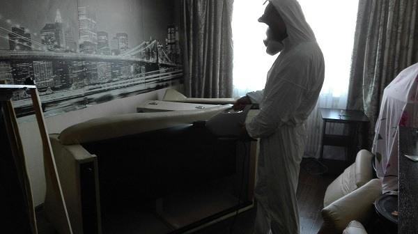 Обработка квартиры горячим и холодным туманом