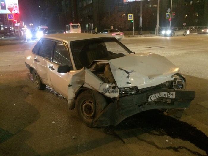 В ДТП пострадало несколько человек