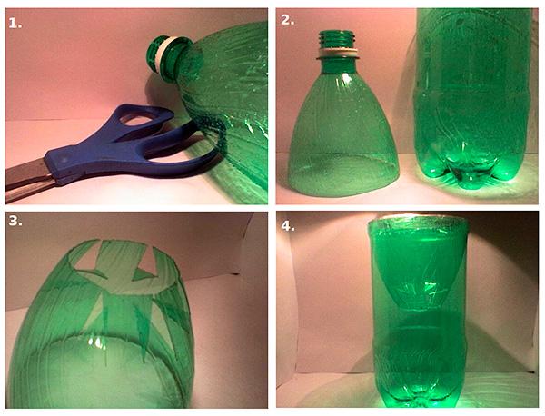 Масляная ловушка из пластиковой бутылки