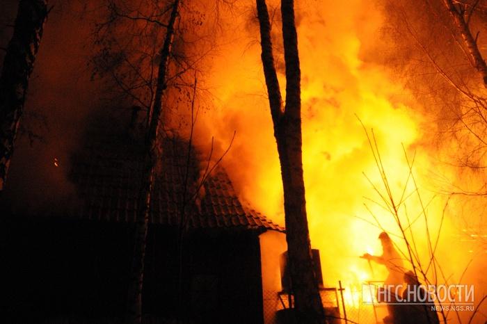 В 18:00 пожар был полностью ликвидирован